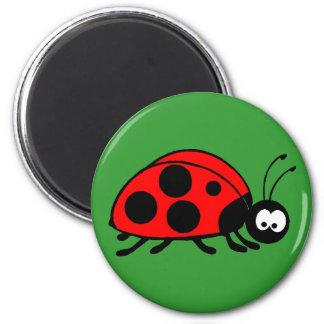 Cute ladybug magnets