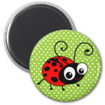 Cute Ladybug Magnet at Zazzle