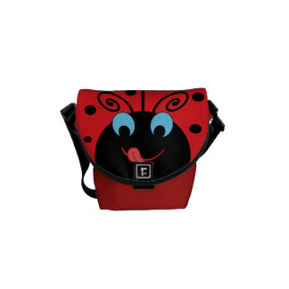 Cute Ladybug Messenger Bag