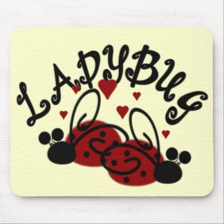 Cute Ladybug Mouse Pad