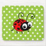 Cute Ladybug Mousepad