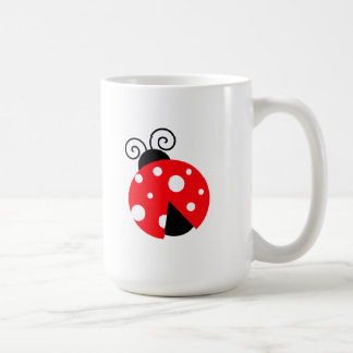 Cute Ladybug Coffee Mugs