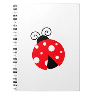 Cute Ladybug Journals