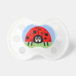 Cute Ladybug BooginHead Pacifier