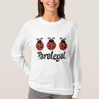 Cute Ladybug Paralegal Gift T-Shirt