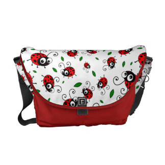 Cute ladybug pattern courier bags
