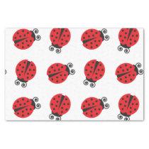 Cute Ladybug Pattern Tissue Paper