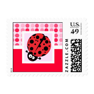 Cute Ladybug Postage