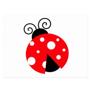 Cute Ladybug Postcards