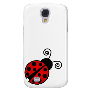Cute Ladybug - Red and Black Samsung S4 Case