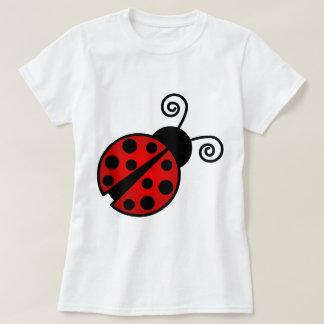 Cute Ladybug - Red and Black Tee Shirt