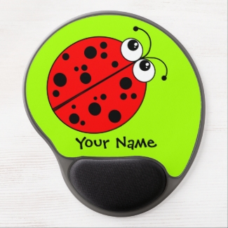 Cute Ladybug Red and Green