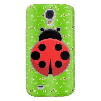 Cute Ladybug Samsung Galaxy S4 Case