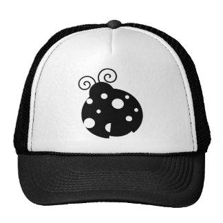 Cute Ladybug Silhouette Hats