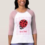 Cute Ladybug T Shirt