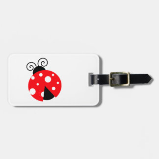 Cute Ladybug Tags For Bags
