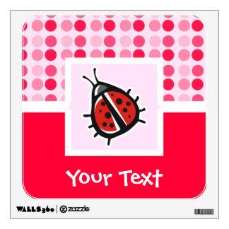 Cute Ladybug Wall Decor