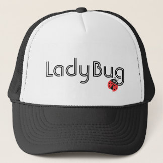 Cute Ladybug with hearts as spots Trucker Hat