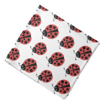 Cute Ladybugs Animal Print Bandana