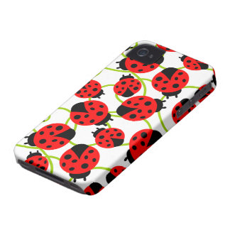 Cute Ladybugs Case-Mate iPhone 4 Case