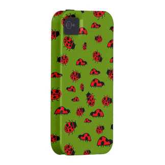 Cute Ladybugs Images Custom Cases Case-Mate iPhone 4 Cover