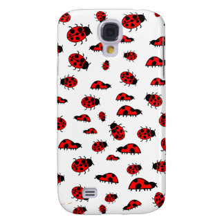 Cute Ladybugs Images Custom Cases Galaxy S4 Cover