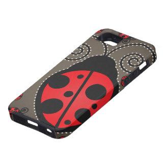 Cute Ladybugs iPhone 5 Case-Mate Tough iPhone SE/5/5s Case