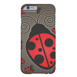 Cute Ladybugs iPhone 6 ID Barely There iPhone 6 Case