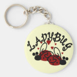 Cute Ladybugs Key Chain