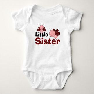 Cute Ladybugs Little Sister Baby Bodysuit
