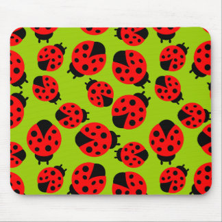 Cute Ladybugs Mouse Pad