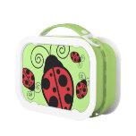 Cute Ladybugs yubo Lunchbox Yubo Lunch Boxes