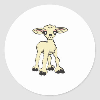 cute lamb stickers
