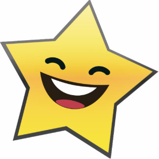 Cute Laughing Smiling Star Power Statuette