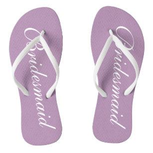 Lavender Flip Flops   Zazzle