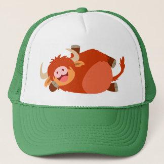 Cute  Lazy Cartoon Highland Cow Hat