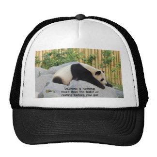 Cute Lazy Day Panda Trucker Hat