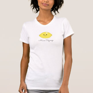 "Cute Lemon Fruit ""Main Squeeze"" T-Shirt"