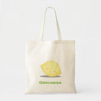 Cute Lemon Grocery Tote Bag