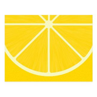 Cute Lemon Postcard