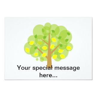 Cute Lemon Tree Card