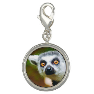 """Cute lemur"" design jewelry Charm"