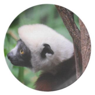 Cute Lemur Party Plates