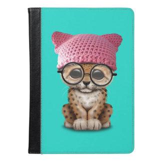 Cute Leopard Cub Wearing Pussy Hat iPad Air Case