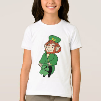 Cute Leprechaun Kid's T-Shirt