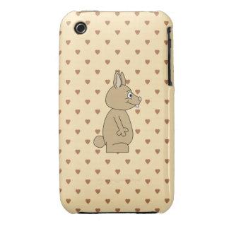 Cute Light Brown Rabbit. iPhone 3 Case-Mate Cases
