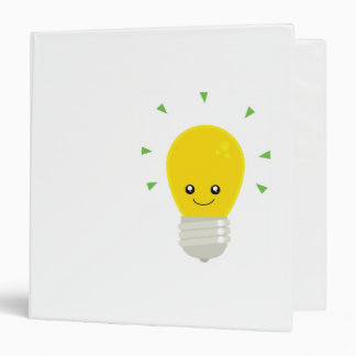 cute-Light-bulb Binder