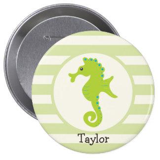 Cute Light Green Seahorse Pins