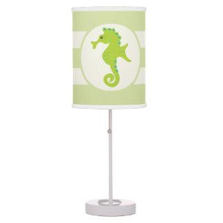 Cute Light Green Seahorse Table Lamp
