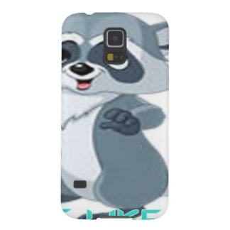 """cute like you """"racoon"""" case for galaxy s5"""
